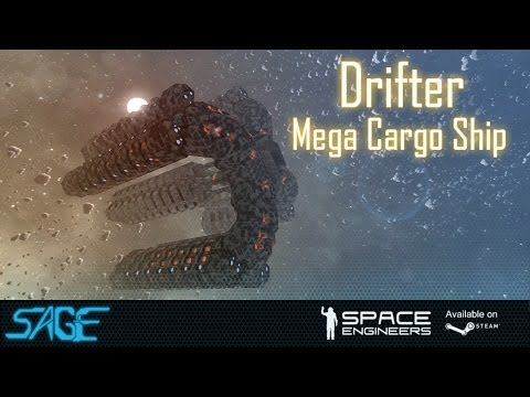 Space Engineers, Drifter Mega Cargo Ship