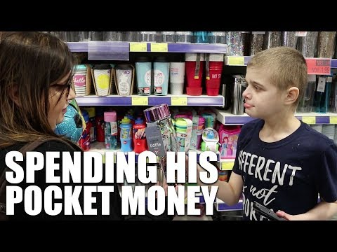 SPENDING HIS POCKET MONEY | AUTISM FAMILY VLOG
