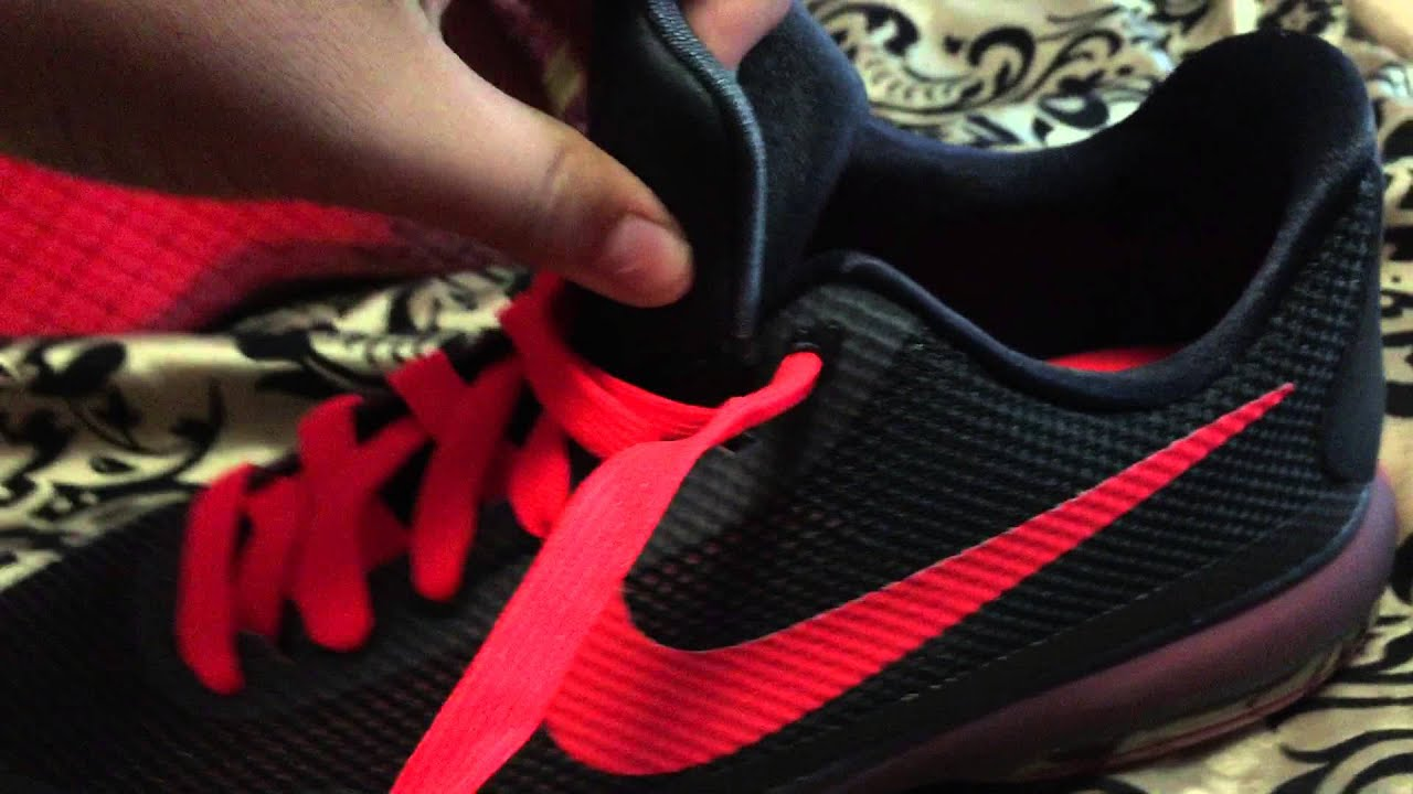 310cbb363afe Kobe X GS Red and black unboxing shoes - YouTube