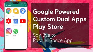 Baixar Create a Custom Dual Apps Powered Google Play Store on any Android | Tricks #13 | Tech Fibre