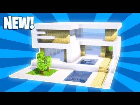 Minecraft House Tutorial : Modern House Tutorial (#24)