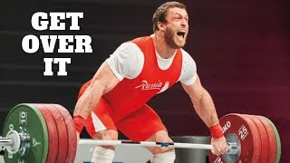 Get Over It (Optimizing the Snatch/Clean)