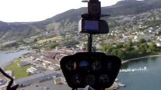 Helikoptertur over Jørpeland og Jøssang