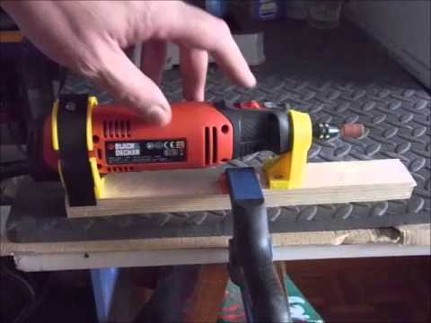 3d Printed Holder For Black And Decker Rotary Tool Rt650ka