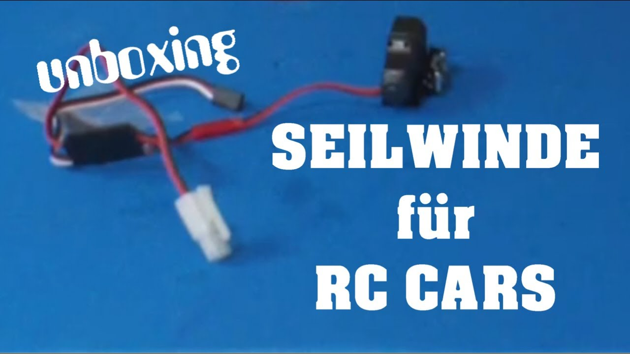 3Racing Seilwinde für RC Scale Cars - Unboxing und Infos ...