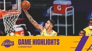 HIGHLIGHTS | Kyle Kuzma (23 pts, 4 reb) vs Miami Heat