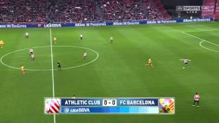 Atheltic Bilbao - Barcelona Highlights HD 01.12.2013