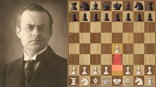 Nimzowitsch Plays e4, What a Splendid game