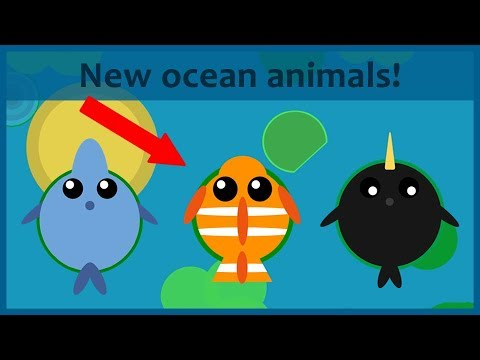 Mope Io New Ocean Animals Update Ideas With Gameplay