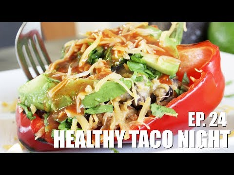 Low-Calorie Bell Pepper Taco Skillet