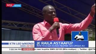 Baadhi ya wabunge wa Jubilee wamtaka Raila kustaafu siasa za Kenya
