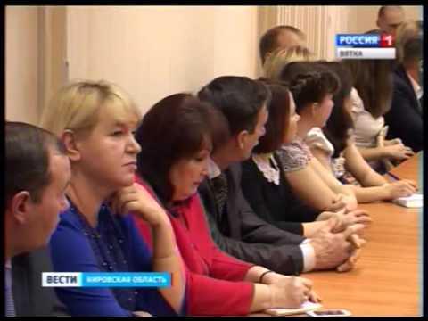 Встреча Олега Валенчука с учителями (ГТРК Вятка)