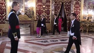 El nuevo embajador en España de Corea entrega las cartas credenciales a Felipe VI