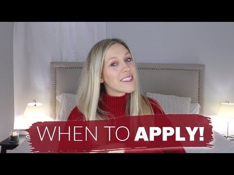 WHEN TO START APPLYING FOR YOUR FIRST NURSING JOB! \\ Alyssa All Day