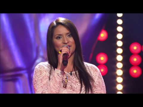 Edna Gonzalez zingt 'Whenever wherever' | Blind Audition | The Voice van Vlaanderen | VTM