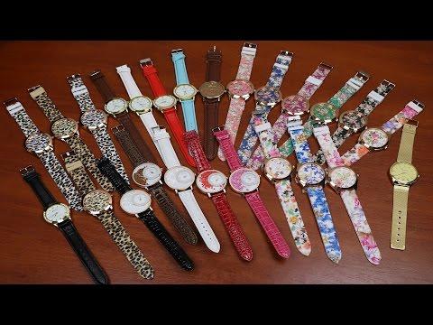 Посылка из Китая: Женские часы с Aliexpress