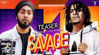 Savage - VejeetaFt. Its Simar, Simran Kaur, Bambb Homie | New Songs 2020