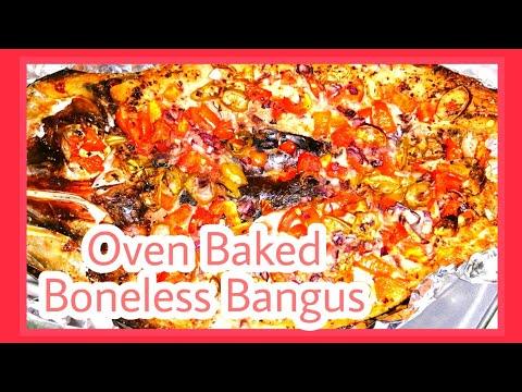 Oven Baked Spicy Boneless Bangus