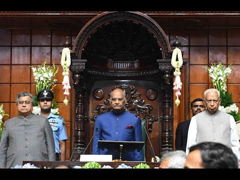 President Kovind addresses Karnataka Legislature on 60th anniversary of Vidhan Soudha