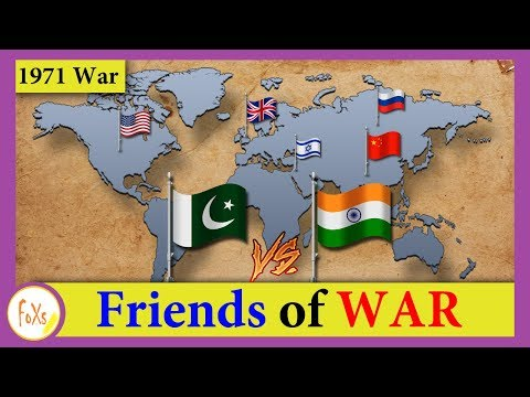 Military Alliance - India Vs Pakistan during 1971 War - [Friends of WAR]
