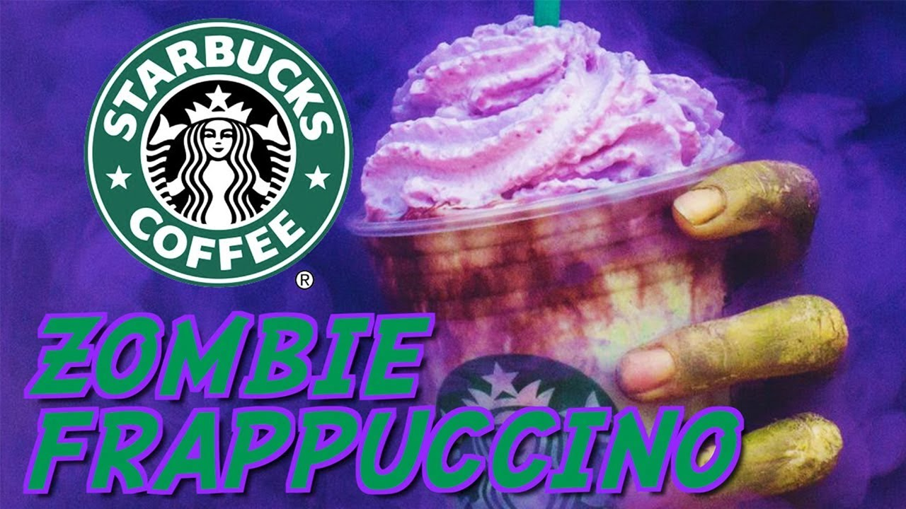????  Zombie Frappuccino from Starbucks Halloween ????