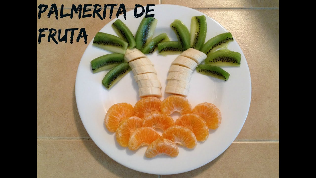 Decora fruta para tus ni os de una manera divertida y for Como secar frutas para decoracion