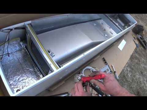 Hvac Installation Williams Propane Wall Furnace Youtube