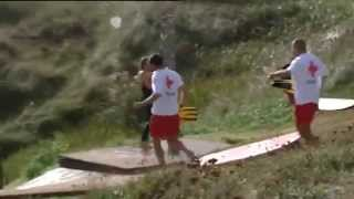 Rescate 'in extremis' a tres jóvenes arrastrados por la corriente en Cantabria