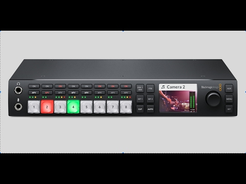 2017 Blackmagic Design ATEM Television Studio HD Part 1 thumbnail