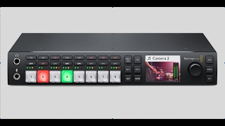 2017 Blackmagic Design ATEM Television Studio HD Part 1