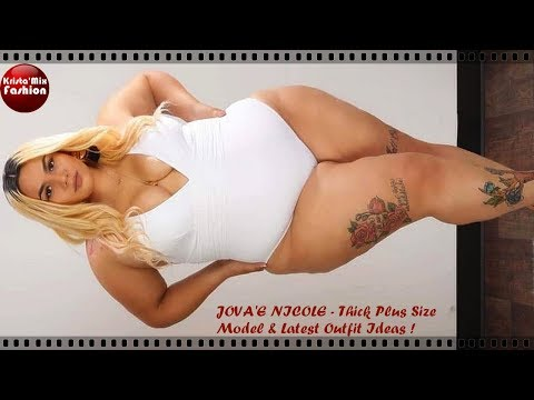JOVA'E NICOLE - Thick Plus Size Model & Latest Outfit Ideas#91