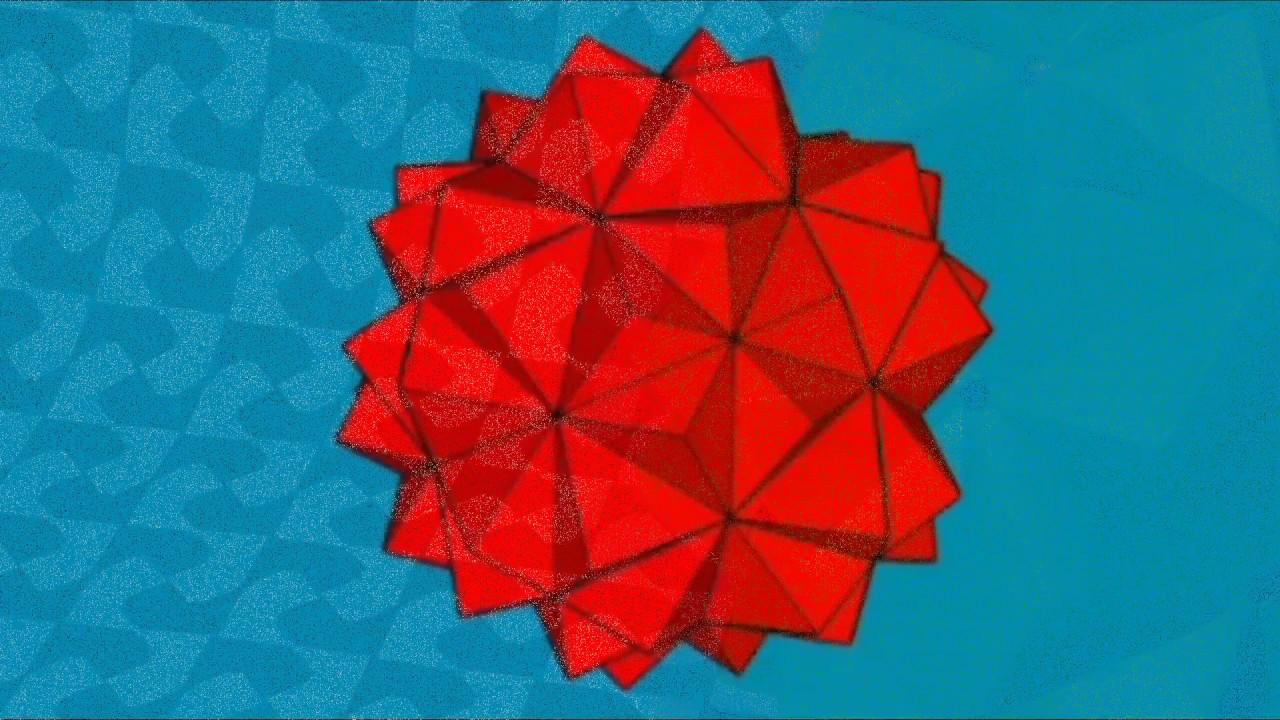 Origami Spiked Pentakis - YouTube | 720x1280