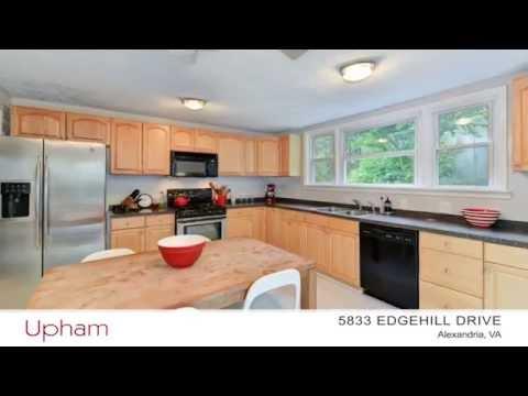5833 Edgehill Dr I Alexandria Virginia Real Estate For Sale