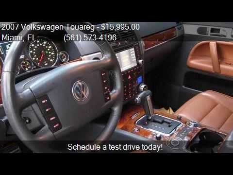 2007 Volkswagen Touareg V10 TDI AWD 4dr SUV for sale in Miam  YouTube