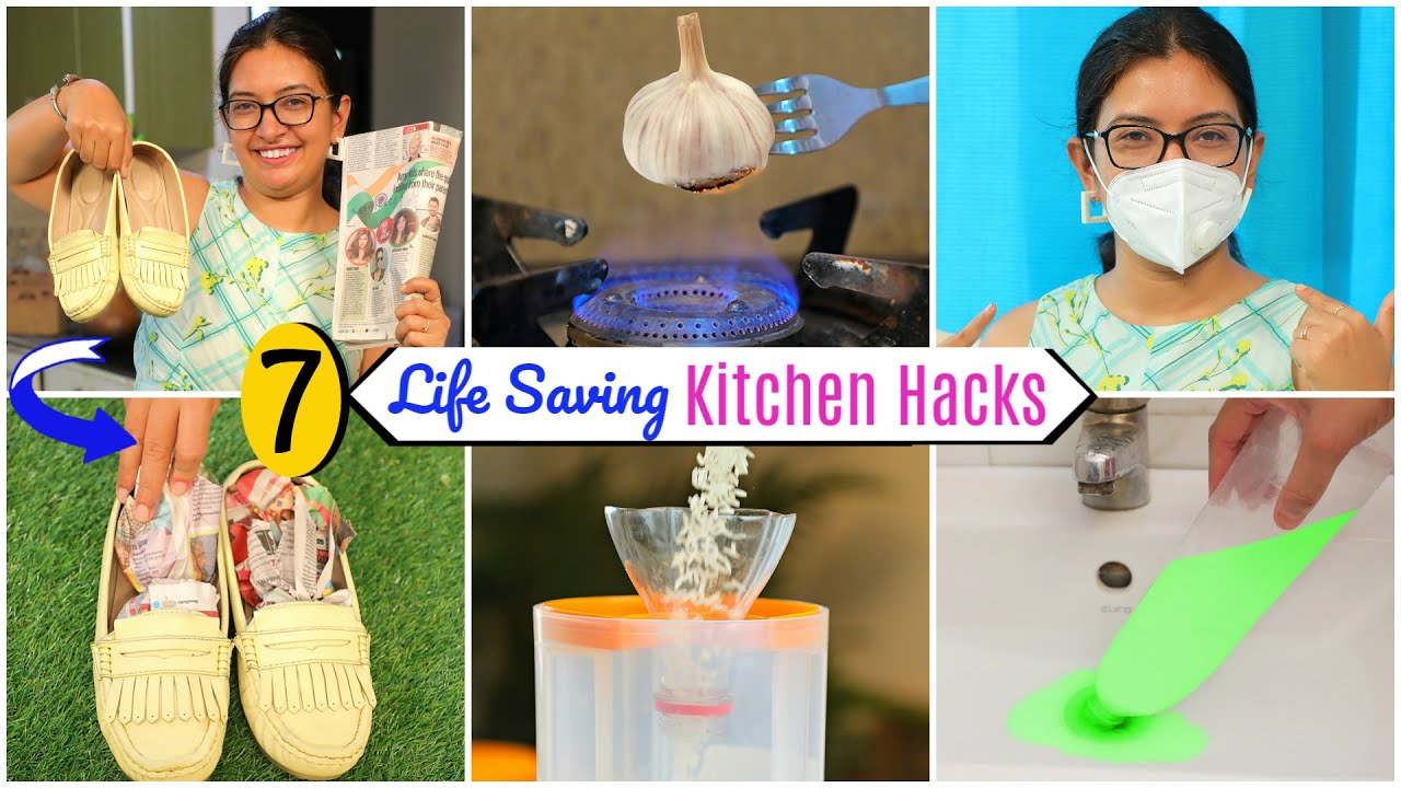 7 Life Saving KITCHEN and Monsoon HACKS | CookWithNisha