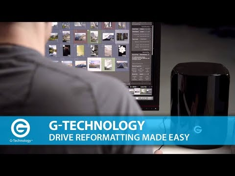G-Technology   Drive Reformatting Made Easy