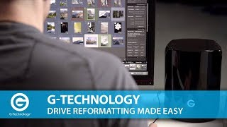 G-Technology | Drive Reformatting Made Easy