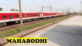 WAP4 New Delhi Gaya Mahabodhi Overtakes Freight