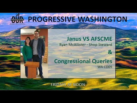 Progressive Washington - Red Berets Medicare For All and Congressional Queries CD 9