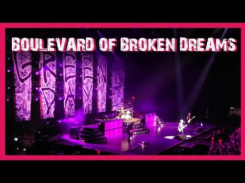 Happy Birthday from Billie + Boulevard of Broken Dreams - Live at Sheffield