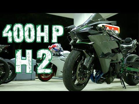 400hp Kawasaki H2 1300hp Gtr Nitrous Hayabusa Youtube