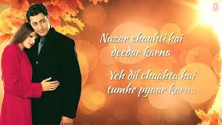 Tumhare Siva 👀💓WhatsApp status 💗Nazar Chahti hai Deedar karna ...