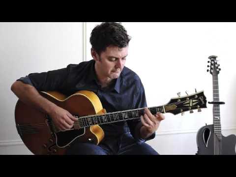 """Stella By Starlight""  Peter Mazza  ""Solo Jazz Guitar""  ""Solo Fingerstyle Jazz Guitar"""