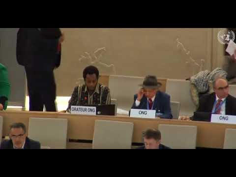 37th Session Human Rights Council - Item 7 GD - Mr. Mutua Kobia
