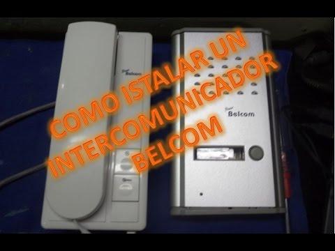 Como instalar intercomunicador con camara