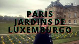 Paris, jardins de Luxemburgo