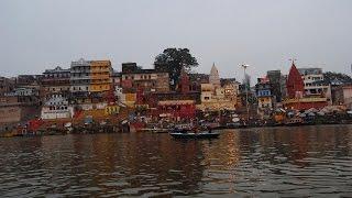 Varanasi- Amanecer en el Ganges- India- H D.