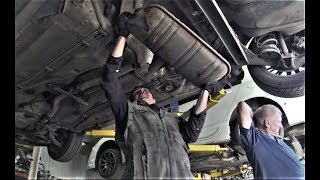 Чип тюнинг и прямой выхлоп VW Passat b5, AUDI, SKODA