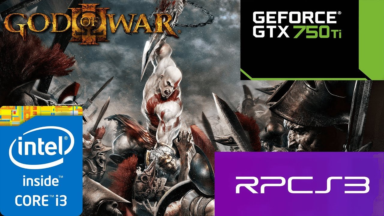 RPCS3 v0 0 4 - God Of War III - Test #2 - GTX 750ti 2GB - i3 3220 3 30GHz -  8GB RAM by Sr  Tester