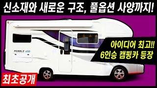 1톤 트럭 캠핑카 시장의 새로운 바람이 될까? 써밋캠핑카라반 페블 650